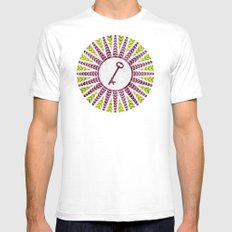 Phantom Keys Series - 11 Mens Fitted Tee White SMALL