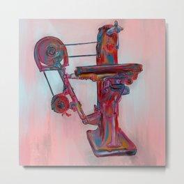 Antique Machine #7 - 665. Metal Print