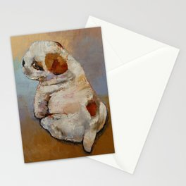 Naughty Puppy Stationery Cards