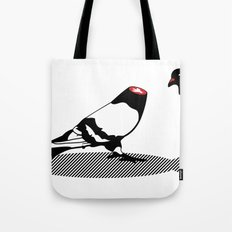 Pigeon and head Tote Bag