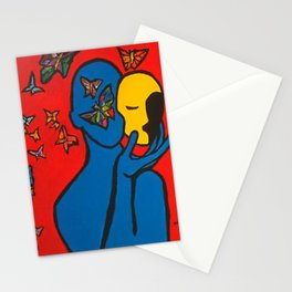SKIN DEEP  (ORIGINAL SOLD)  #Society6  #decor  #buyart Stationery Cards