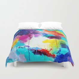 Love is a Give & Take Duvet Cover