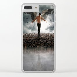 The Guardians of Angels Clear iPhone Case