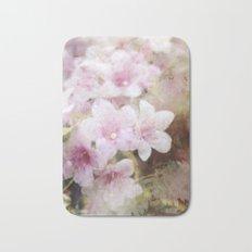 Floral Pink Bath Mat