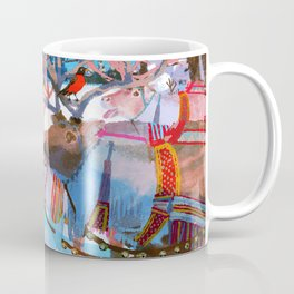 Reindeers and friends Coffee Mug