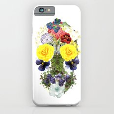 Skull Flowers iPhone 6s Slim Case