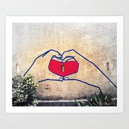 Love (edited) Art Print