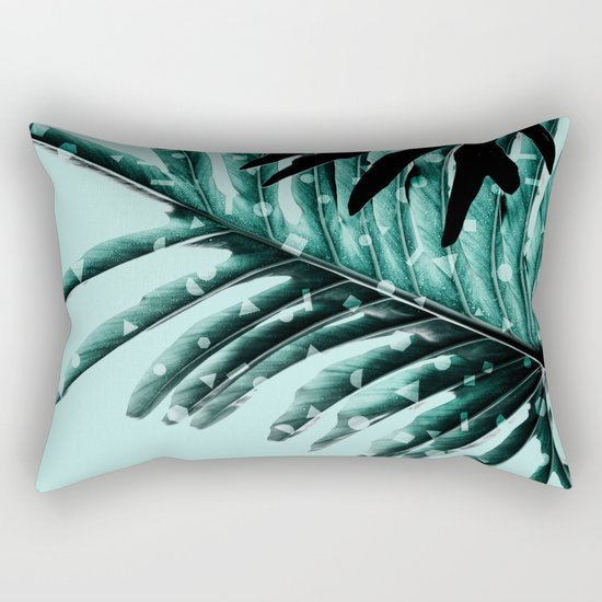 Leaves 2 Geometry Rectangular Pillow