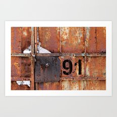 Rusty91 Art Print