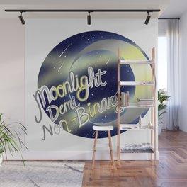 Deminonbinary Moonlight Pride Wall Mural