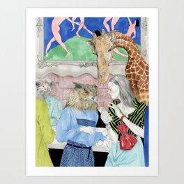 THE LOSS OF WONDER Art Print