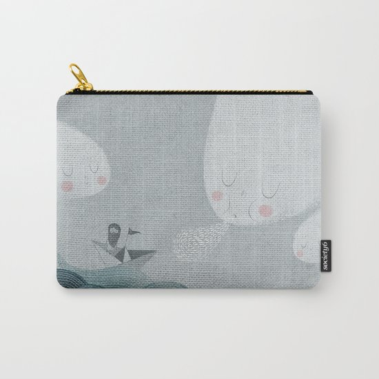 Blowing by the Wind Carry-All Pouch