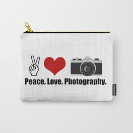 Love Photography Carry-All Pouch
