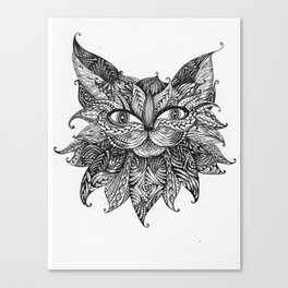 Abstract ZIA Cat Canvas Print