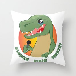 FilosoRex Throw Pillow