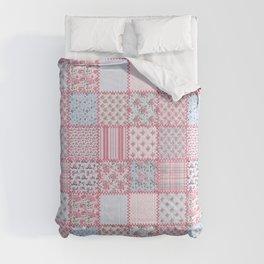 Pretty Pastel Patchwork Comforters