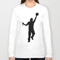 jay z Long Sleeve T-shirts featuring #TheJumpmanSeries, Jay Z by @thepeteyrich