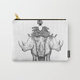 Rhino Tree Carry-All Pouch
