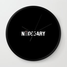 nice gary Wall Clock