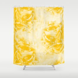 Yellow Peonies Dream #1 #floral #decor #art #society6 Shower Curtain