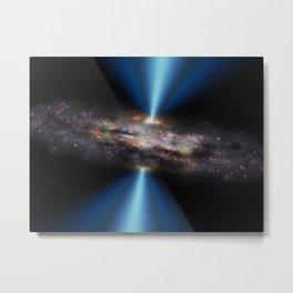 Black Hole CID-947 Deep Space Telescopic Photograph Metal Print
