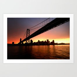 """I'm sittin' on the dock of the bay..."" Art Print"