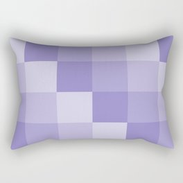 Four Shades of Lavender Square Rectangular Pillow