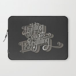 Fighting solves everything Laptop Sleeve