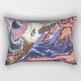 Hot enough for 99? Rectangular Pillow