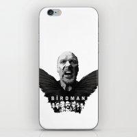 birdman iPhone & iPod Skins featuring Birdman by naidl