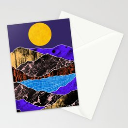 Textured lands Stationery Cards