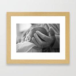 The Touch Framed Art Print