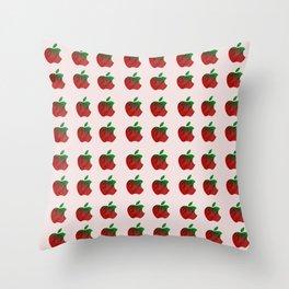 The Deceptive Apple Throw Pillow