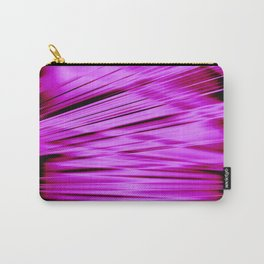 Pink streaked lines pattern Carry-All Pouch