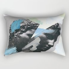 Untitled (Painted Composition 1) Rectangular Pillow