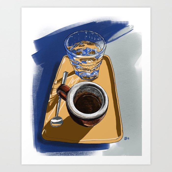 Espresso at Coffee Folk Kunstdrucke