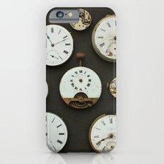 Vintage Clocks iPhone 6s Slim Case