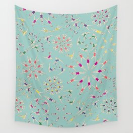 synchro love Wall Tapestry