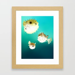 PUFFERFISH Framed Art Print