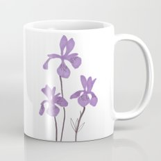 Iris Purple Flower Coffee Mug