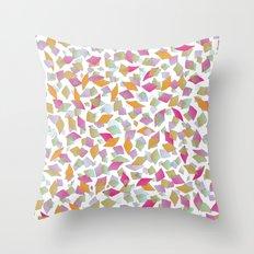 Paper Field Throw Pillow