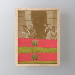 The Golden Family Framed Mini Art Print