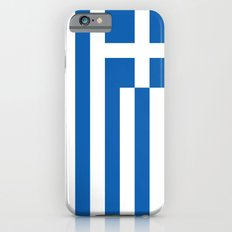 Greek flag Slim Case iPhone 6s