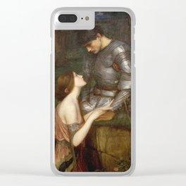 John William Waterhouse - Lamia Clear iPhone Case