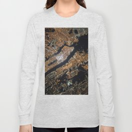 New York City Lights Long Sleeve T-shirt