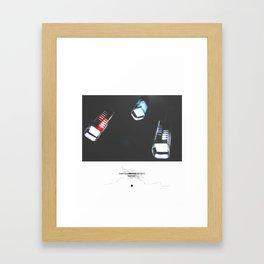 Dark Night Framed Art Print