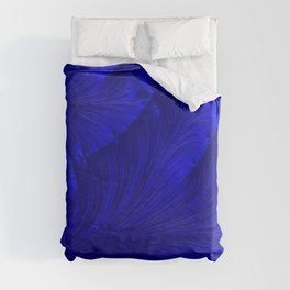 Renaissance Blue Duvet Cover