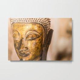 Wat Si Saket Buddhas VIII, Vientiane, Laos Metal Print