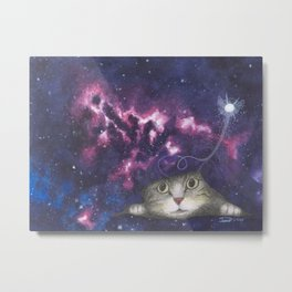 Rip in the Fabric of Space Metal Print