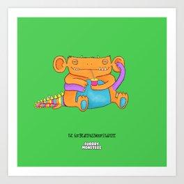 The GorgledeeFuzzwoopsydayzee Art Print